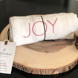 Magnolia Christmas Kitchen Towel Joy